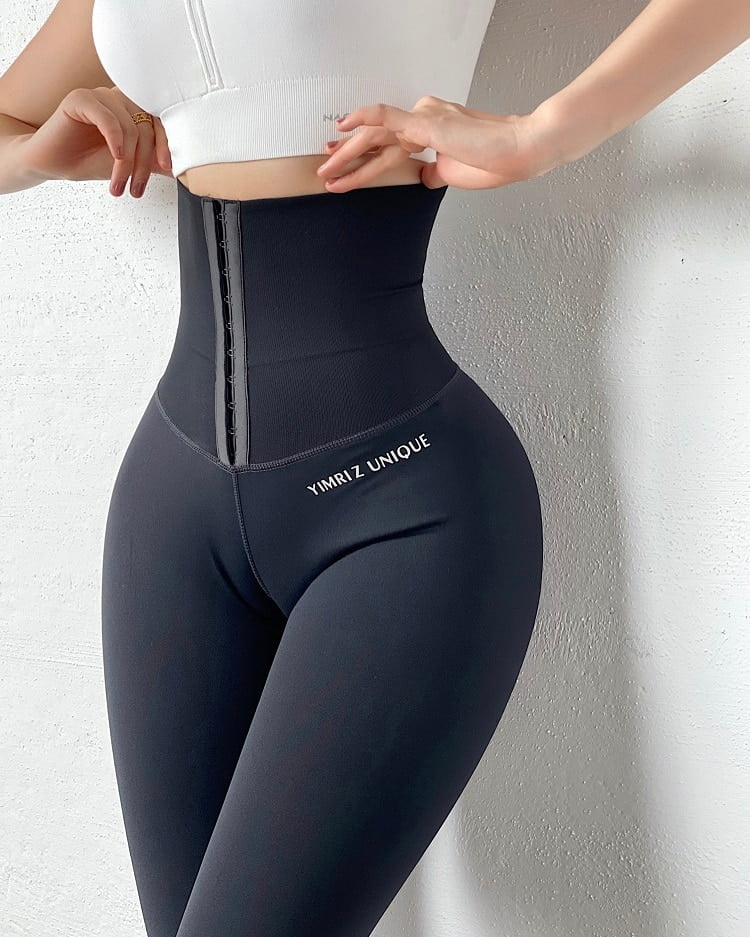 High Waist Body Building Fitness Legging Stretch Tights Body Shaping Trousers Running Leggings Workout Training Yoga Pants Sport9s