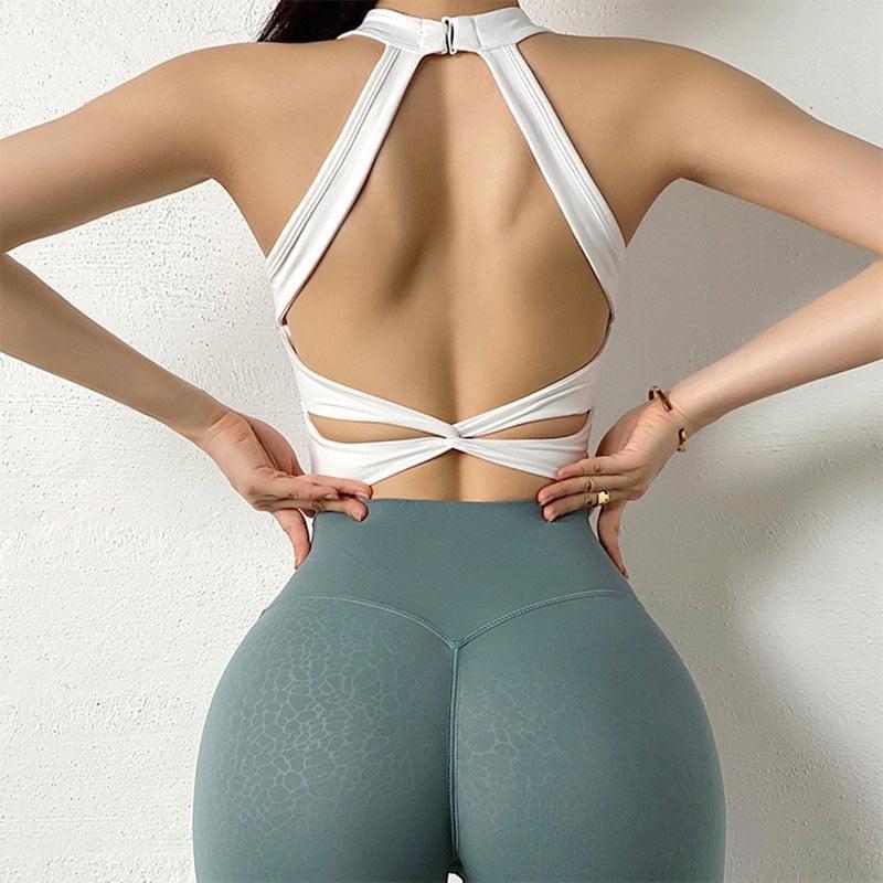 Women Sports Bra Sexy Mesh Breathable Yoga Top Push Up, Female Gym Fitness Sportwear Sport9s