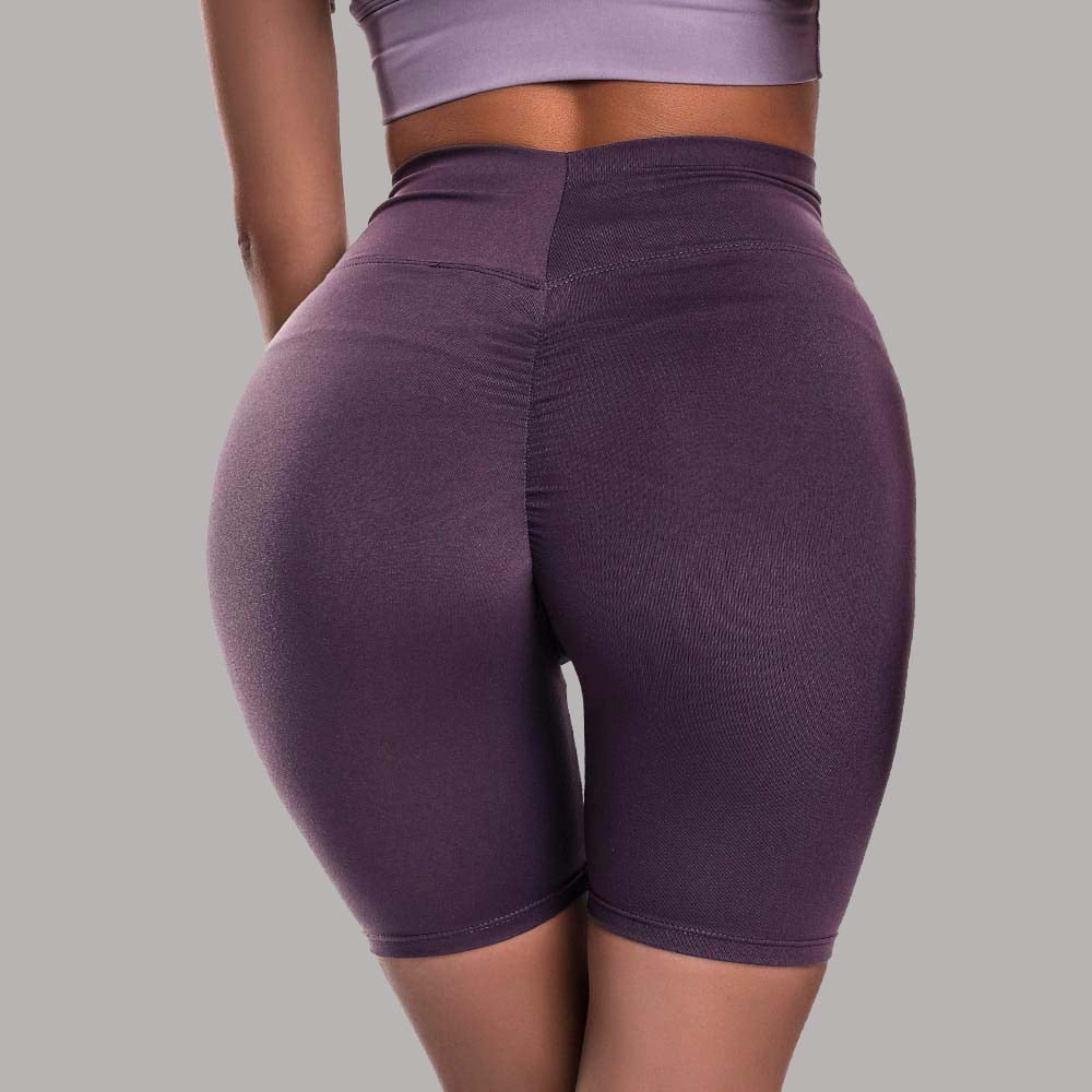 Women Push Up Hip Fitness Shorts, High Waist Sports Quick Dry, Skinny Yoga Shorts Outdoors Running Workout Sport9s