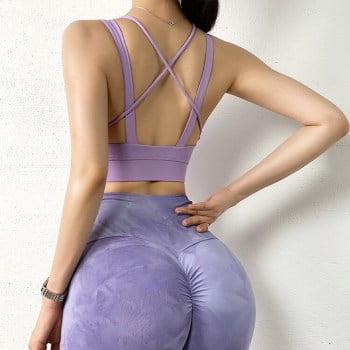 Women Fitness Crop Top Sexy Sports Bras Training Vest Sleeveless Sport Gym Tops Breathable Running Sportswear Yoga Bra Workout Sport9s